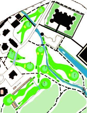 parcours du golf