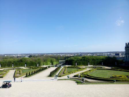 jardins château versailles